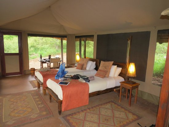 Oliver's Camp, Asilia Africa: Nice spacious tent