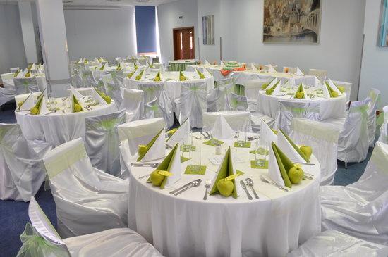 IBS Hotel Vladimir: wedding setup