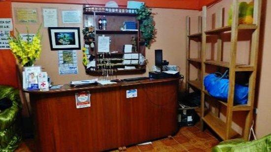 Hostel Mosoq Inti Inn: Front desk