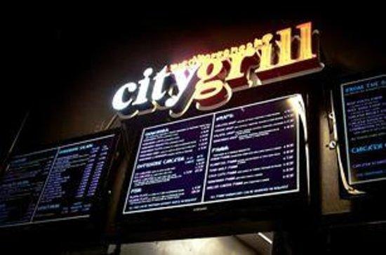 Mediterranean City Grill: Our Menu Board