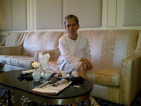 Makkah Hilton Towers : Family Lounge di Executive Floor...