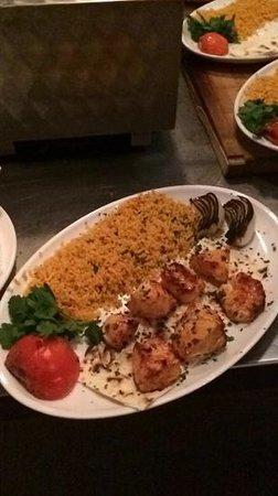 Elif Turkish Barbecue Restaurant: tavuk sis