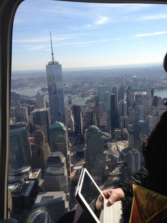 Helicopter Flight Services - Helicopter Tours: Freedom Tower