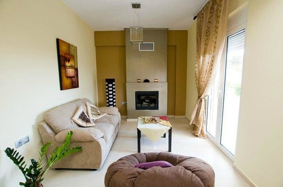 Thea Thalassa : Living room