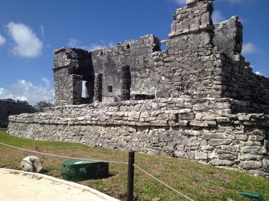 Mayan Beach: Mayan ruin Tulum