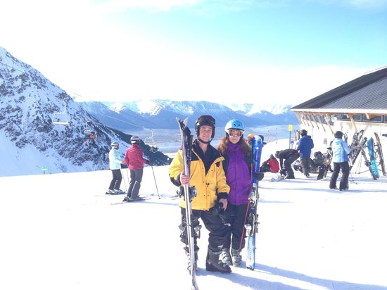 Alyeska Ski Area: at the top