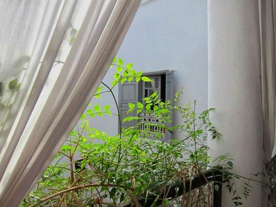 Riad Tizwa: balcony