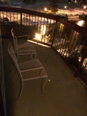 Torian Plum Condominiums: Balcony