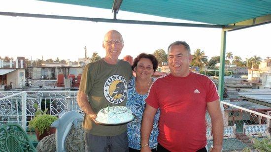 Casa Yanek y Javier: Best birthday cake ever!