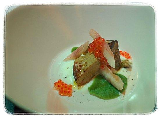 Restaurante Pablo: Foie con anguila ahumada