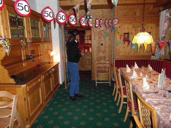 Postwirt: onze prive eetkamer!