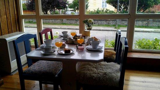 Hotel Ayacara: Desayuno