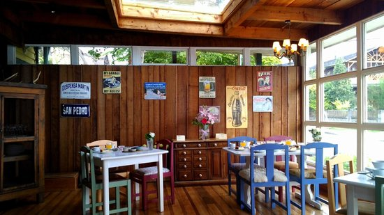 Hotel Ayacara: Desayunador