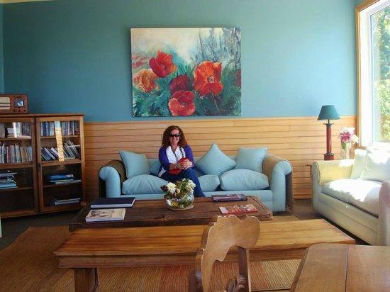 Hotel Ayacara: Sala de estar