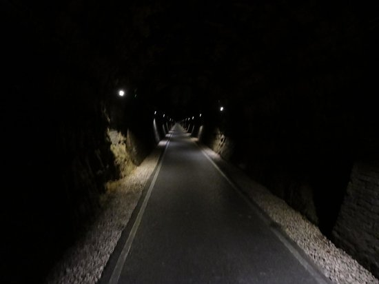 Two Tunnels Greenway: Depths of Combe Down Tunnel
