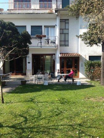Hotel Villa Beatrice : Jardin