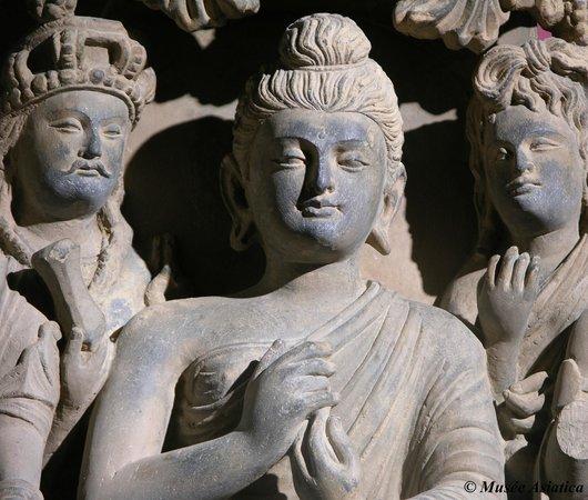 Musée Asiatica : Bouddha du Gandhara