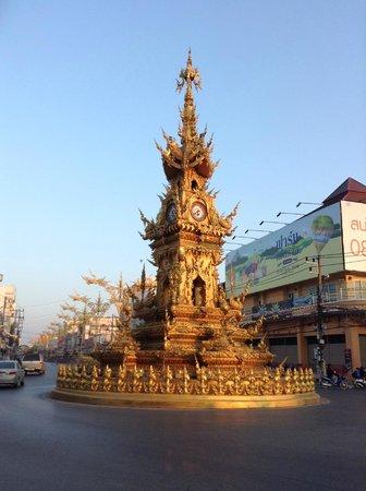 Clock Tower em Chiang Rai