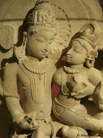 Asiatica Musée d'Art Oriental : Couple Shiva et Parvati