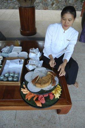 Amanpuri: Tea time
