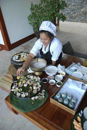 Amanpuri: Afternoon tea