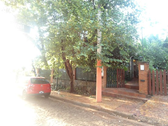 Poramba Hostel: La entrada del hostel