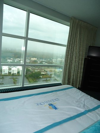 Oceans One Resort: View from a guest bedroom