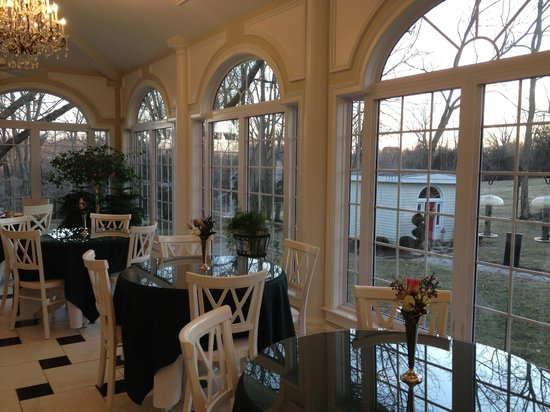 A Storybook Inn: Beautiful view for awesome breakfast