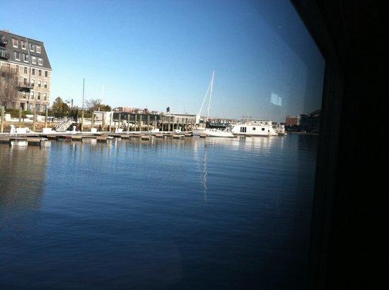 Boston Sail Loft Restaurant : View from Sail Loft