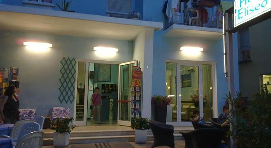 Hotel Eliseo : Ingresso