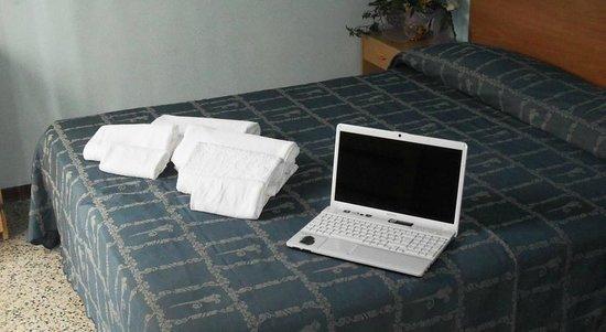 Hotel Eliseo : Camera