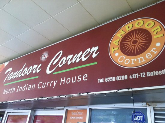 Tandoori Corner - Balestier Road : Tandoori Corner - look for this sign