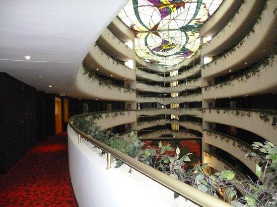 Hotel Rabat : Vista desde el loby