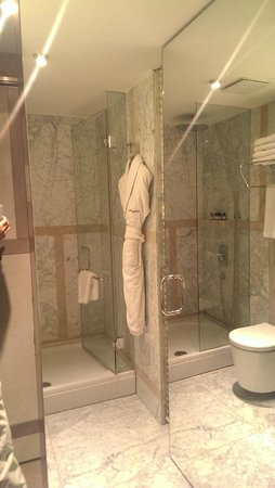 The House Hotel Nisantasi: marble work is truly turkish