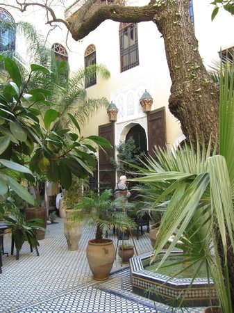 Riad Le Calife: Taken from the courtyard