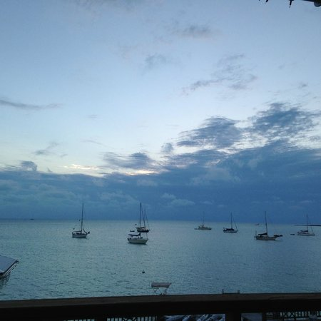 Long Island Breeze Resort Restaurant : Perfect view from the restaurant!