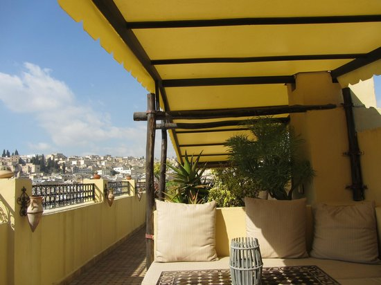 Riad Le Calife: Rooftop Terrace