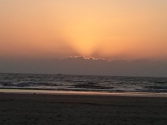 Sunset view from Naad beach Resort