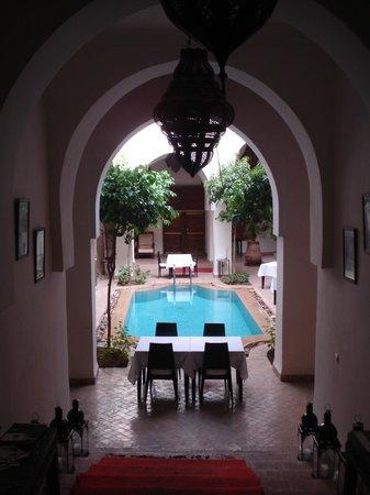 Palais Riad Calipau Marrakech: Beautiful courtyard!