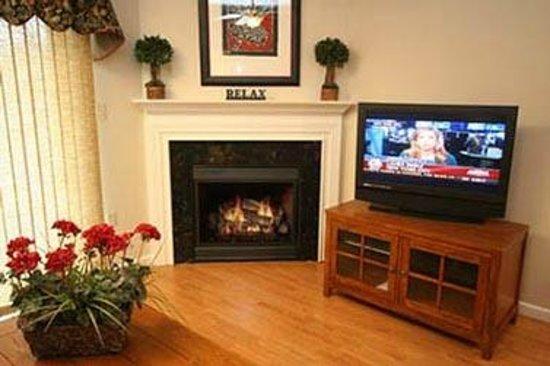Cedar Lodge Condominiums: Cozy Fireplaces