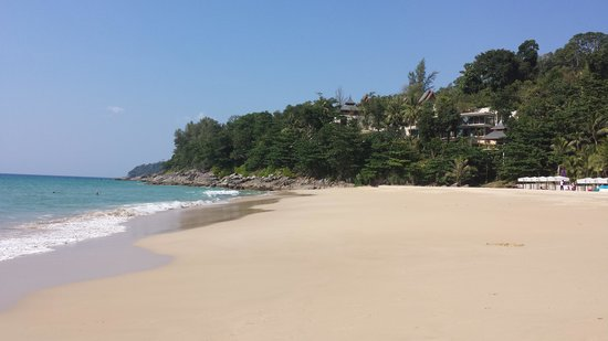 Andaman White Beach Resort : la plage
