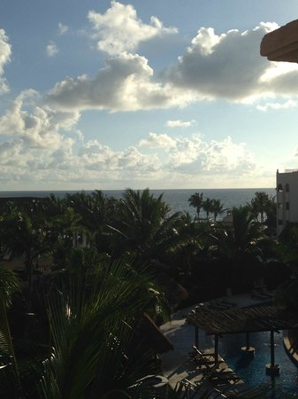 Excellence Riviera Cancun : View from balcony - bldg 6, corner room