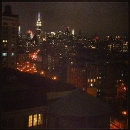 Hampton Inn Manhattan-SoHo: Great Views of downtown