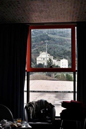 Albornoz Palace Hotel : stanza e panorama!