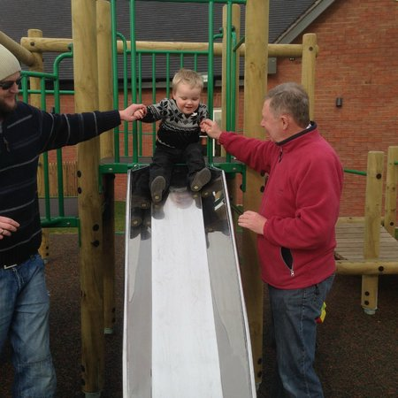 The Saxon Penny: Outdoor play area