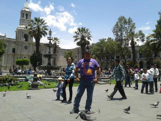 Mirador del Monasterio: Un lindo día en Arequipa.