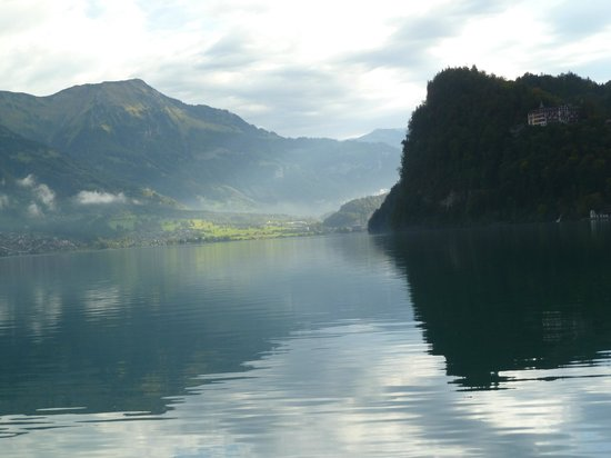Brienzersee: Reflections on lake Brienz