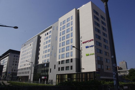 Ibis Styles Lyon Centre - Gare Part Dieu : Hotel view