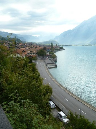 Brienzersee: Views of Brienz from the church