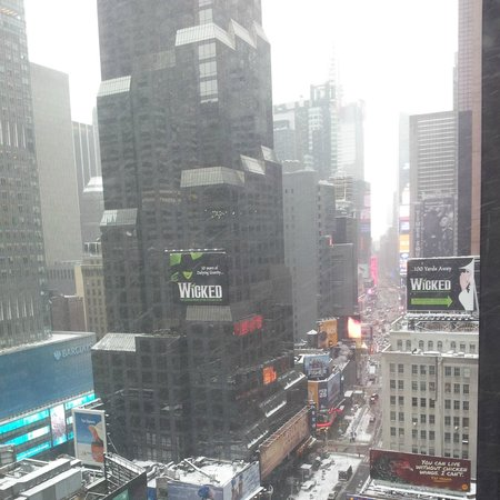 Novotel New York Times Square: times square view